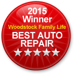 Woodstock Family Life 2015 Winner of Best Auto Repair